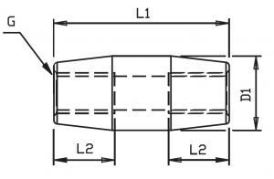 tie bar connector drawing